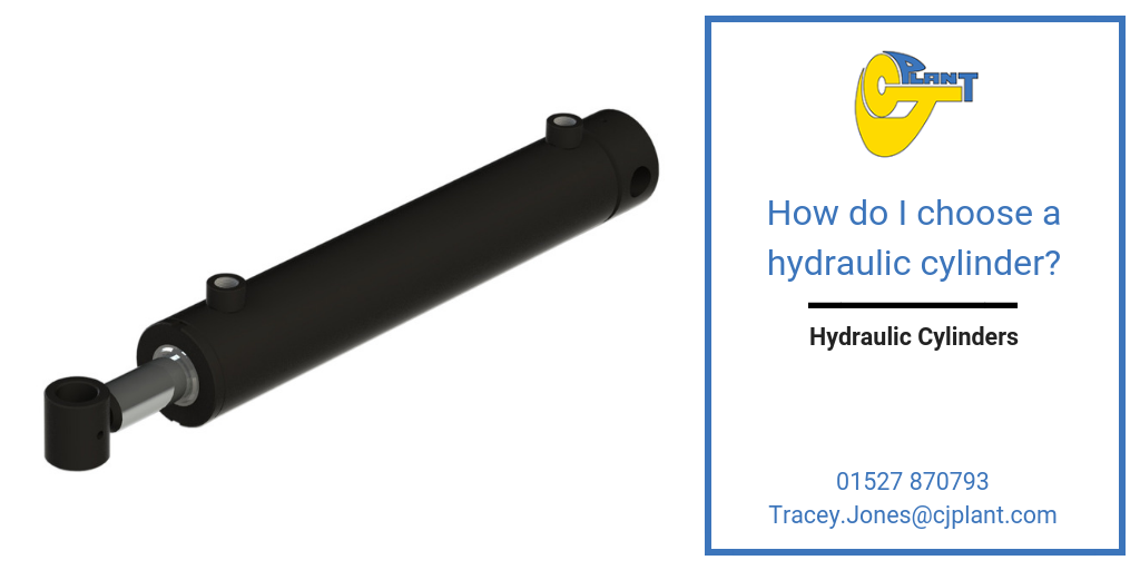 How do I choose a hydraulic cylinder?