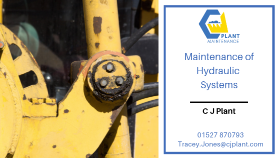 Maintenance of hydraulic systems