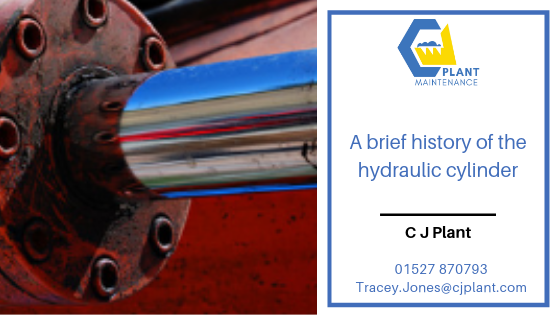 A brief history of the hydraulic cylinder