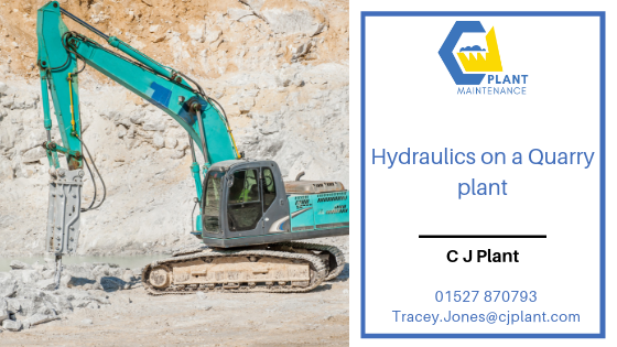 CJ Plant: Hydraulics Systems in a Quarry Plant