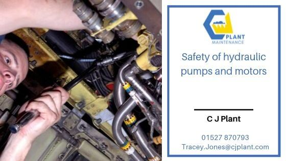 Safety of hydraulic pumps and motors