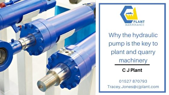 Why the hydraulic pump is the key to plant & quarry machinery?